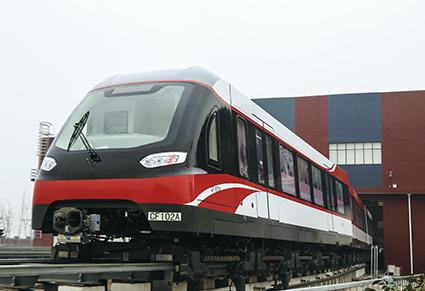 中低速磁悬浮列车