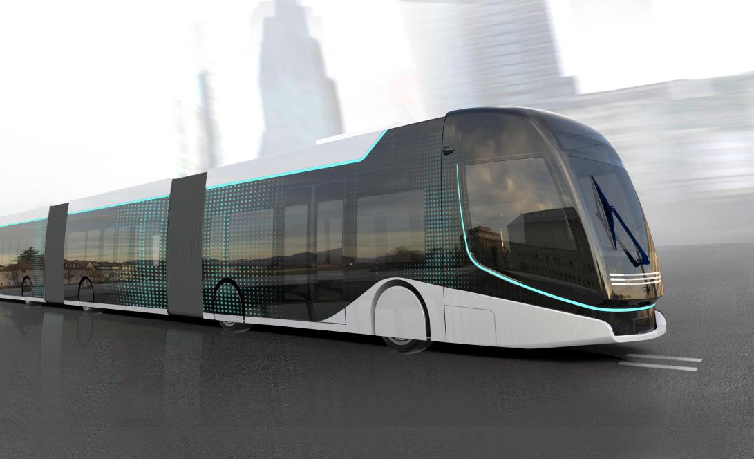 超级虚拟轨道列车